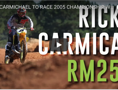 RICKY CARMICHAEL TO RACE 2005 CHAMPIONSHIP WINNING RM250 IN ALL NEW MONSTER ENERGY AUS-X OPEN 2-STROKE SHOWDOWN