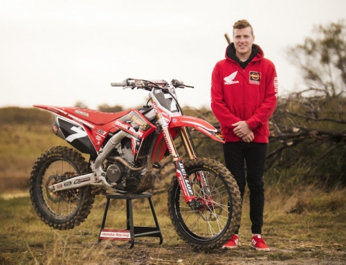 Penrite Honda Racing signs Bradley Taft for Australian Supercross