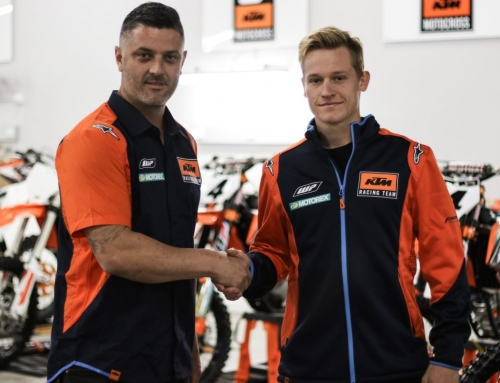 KTM TAKES AIM AT AUSTRALIAN SUPERCROSS WITH CLOUT AND ALIX