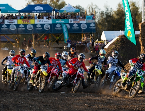 American and English armed forces on the attack for inaugural Coolum Supercross