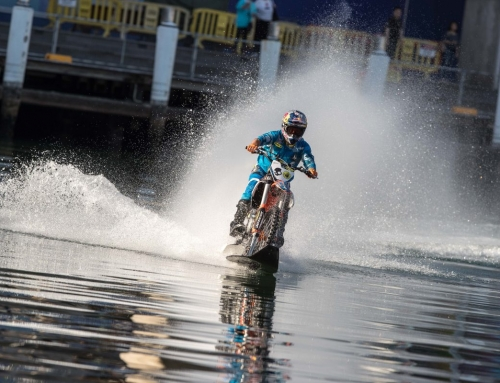 Robbie Maddison to headline land, sea and air stunts at Wollongong Supercross