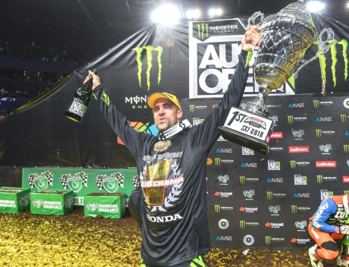 Justin Brayton to chase fourth Australian Supercross Championship title with Penrite Honda Racing