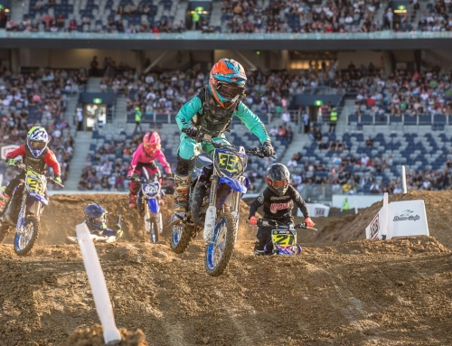 A bright outlook for future Supercross stars with Yamaha YZ65 Cup