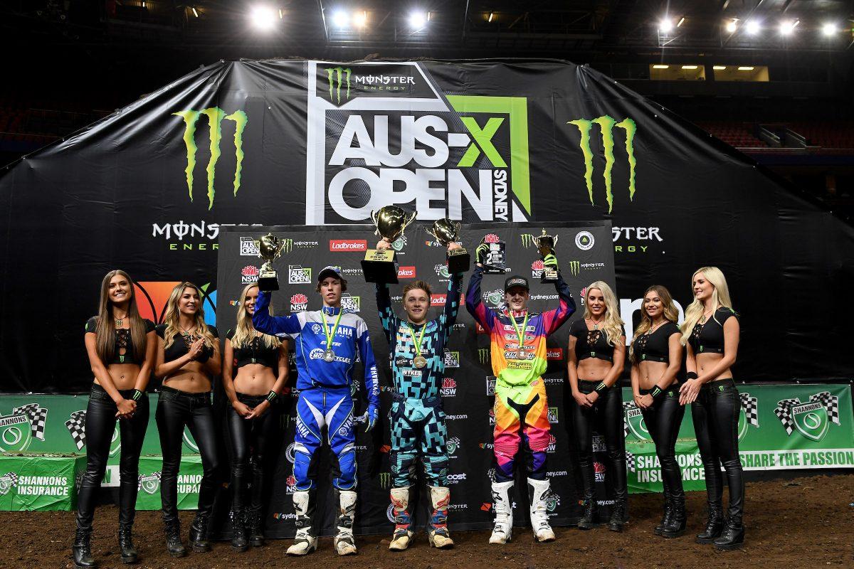2019 Australian Junior Supercross Championship to give