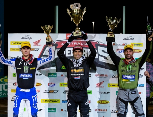 Brayton's Australian Supercross title defence kick starts with QLD win​