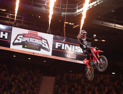 Australian Supercross Champion confident heading into Round two after dominant display