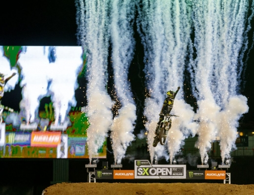 American Anderson wins S-X Open Auckland as Clout takes Australian Supercross lead